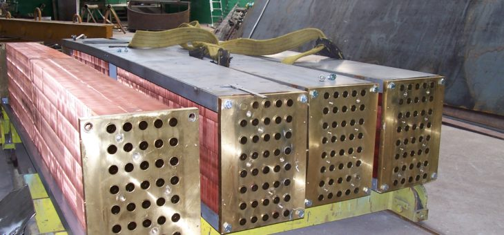 Chłodnica generatora i chłodnice oleju