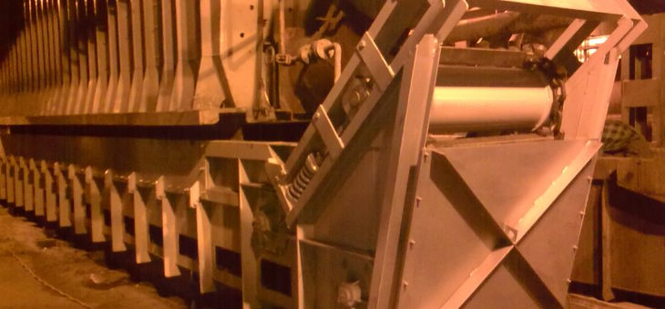 Wykonanie nowych i remont istniejących wygarniaczy żużla