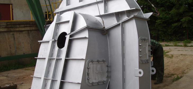 Wykonanie elementów wentylatorów młynowych, powietrza oraz spalin