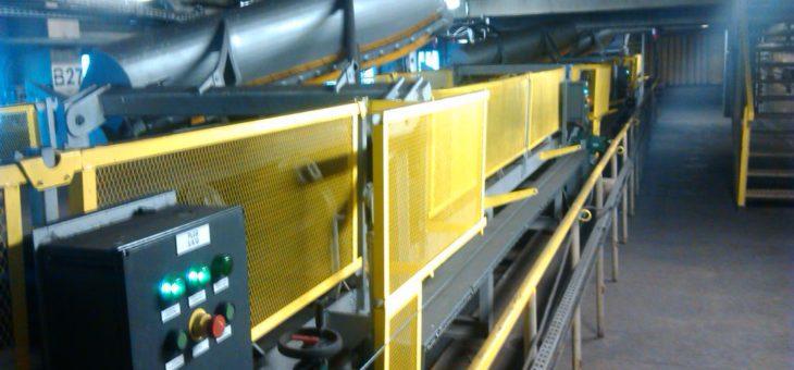 Modernizacja systemu podawania węgla na I i II ciągu nawęglania wraz z pługami zrzutowymi
