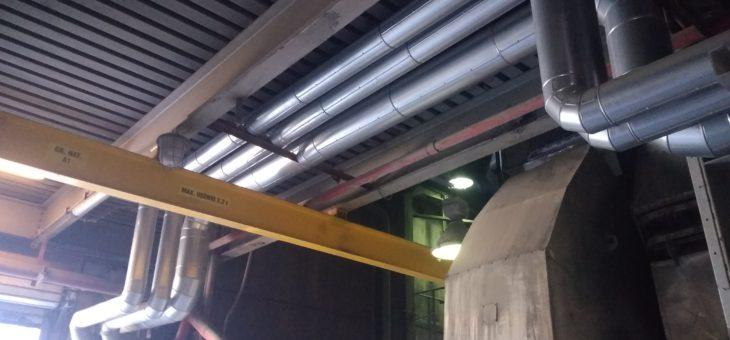 Montaż belek i wciągów specjalistycznych wraz z modyfikacją instalacji technologicznych