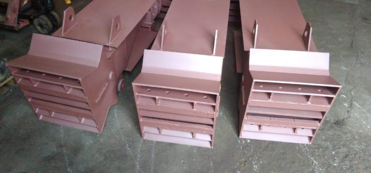Remont dysz pyłowo-węglowych palników narożnych kotła OP-230