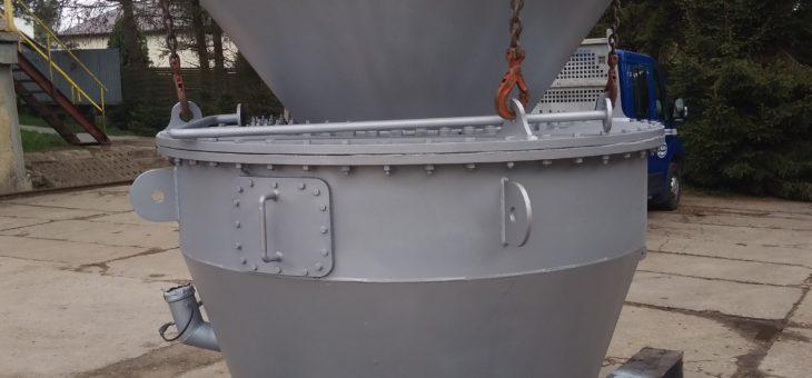 Remont przekładni odsiewacza dynamicznego młyna węglowego EM-70 wraz z remontem odsiewacza
