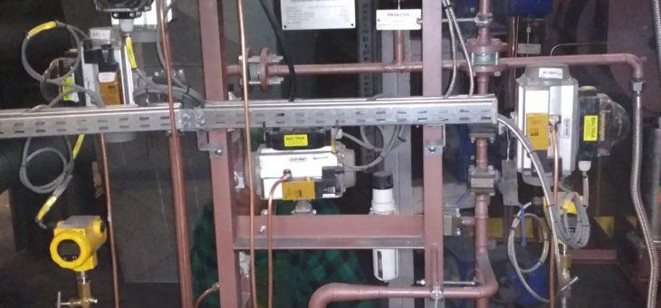Wykonanie i montaż stacyjek palników rozpałkowych