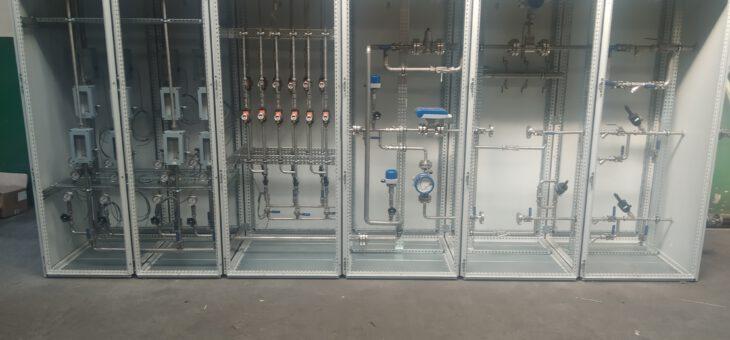 Wykonanie, dostawa i montaż kompletnych szaf sterujących dawkowaniem mocznika